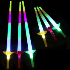 Kiếm Nhựa Đèn Led 4 Khúc Kéo Ngắn Dài [Đồ Chơi Trẻ Em]