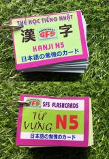 Thẻ Học Tiếng Nhật N5 – Kanji + Từ Vựng