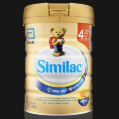 Sữa bột Similac IQ 4 HMO 900g (Cam kết chính hãng)