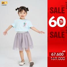 Áo phông YODY cho bé chất liệu cotton, Áo kid summer vibes – KID4132