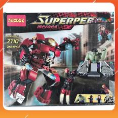 Đồ Chơi Noel – Xếp Hình Thông Minh Decool Hero – Đồ Chơi Trẻ Em Toy Mart