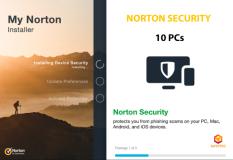 Norton Security x10 PCs