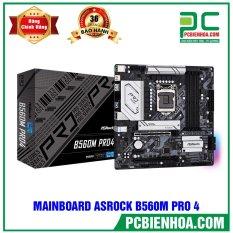 MAINBOARD ASROCK B560M PRO 4 ( LGA1200 / M-ATX / 4xDDR4 )