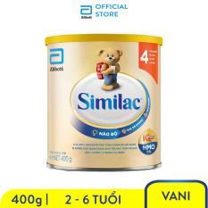 Sữa bột Similac Eye-Q 4 HMO 400g Gold Label