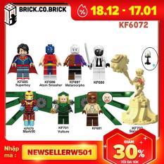 KF6118 – Đồ chơi lắp ráp minifigure và non lego các nhân vật phim hoạt hình Naruto – Tobi, Uchiha Obito, Sasori, Madara