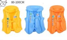 [HCM]Áo phao bơm hơi loại dày cho bé từ 1 đến 10 tuổi