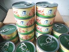Combo 10 lon cá ngừ ngâm dầu 165g (thịt xé)