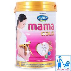 Sữa Bột Vinamilk Dielac Mama Gold Hương Vani Hộp 900g (Dinh dưỡng dành cho bà mẹ mang thai và cho con bú)