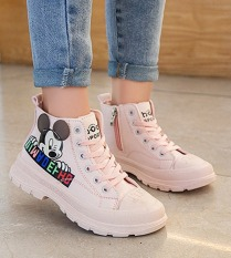 Giày cao cổ cho bé gái từ 3 đến 15 tuổi TT30