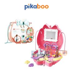 Đồ chơi túi đeo đi kèm đồ trang điểm cao cấp Pikaboo, đầy đủ chi tiết giúp bé thỏa sức sáng tạo đam mê