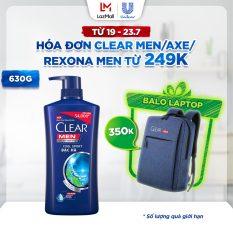Dầu Gội Clear Men Cool Sport Bạc Hà Sạch Gàu (630g)