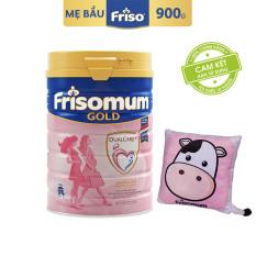 [Freeship toàn quốc] Sữa bột Frisomum Gold hương cam 900g dinh dưỡng kép cho mẹ mang thai và cho con bú + Tặng 1 gối tựa lưng trị giá 130K