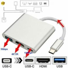 Adapter usb type c sang usb – c 4k hdmi 3 trong 1 cho laptopipadpc, sản phẩm đa dạng về mẫu mã, kích cỡ, cam kết hàng giống với hình, vui lòng inbox để shop tư vấn thêm