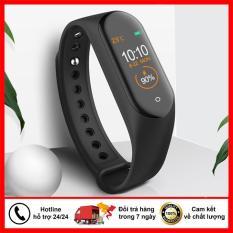 Đồng hồ Band M4 theo dõi sức khỏe đo huyết áp giá rẻ chốnng nước IP65 – Đồng hồ thông minh thế hệ mới, đẳng cấp vượt trội