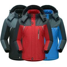 Áo khoác chống thấm lót lông, áo khoác chắn gió, giữ nhiệt siêu ấm