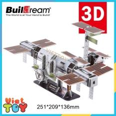 Bộ lắp ráp mô hình 3D Buildream Trạm không gian quốc tế ISS – International Space Station – MH006