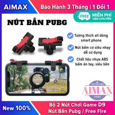 Bộ 2 Nút Bắn Pubg, Ros, Free Fire, Knight Out, Nút Bấm Chơi Game D9 Dạng Móng Gà Bản Nâng Cấp Của Nút Bấm C9 Chammart – AIMAX