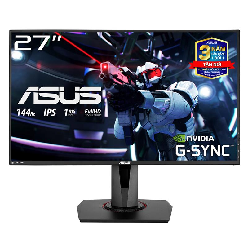 Màn Hình Game ASUS VG279Q 27 inch IPS 144Hz 1ms MPRT Full HD 2 Loa FreeSync – Hàng Chính Hãng