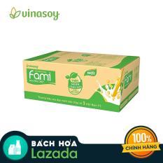 Thùng Sữa Đậu Nành Fami Nguyên Chất (40 bịch x 200ml)