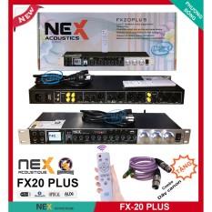 Vang cơ NEX Acoustics FX20 Plus với Remote điều khiển Chính hãng cty Vaudio