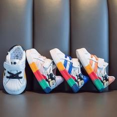 Giày Thể Thao Mickey Cầu Vồng Cho Bé Trai/Gái – Giày Thể Thao cho Bé – Mẫu Giày Hót Nhất 2020 -G04