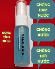NANO PHỦ KÍNH – chống bám nước chuyên dụng Nano Rain