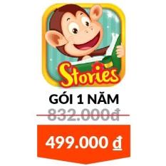 Monkey Stories – Gói 1 Năm – Tặng Bộ Sách Music Book