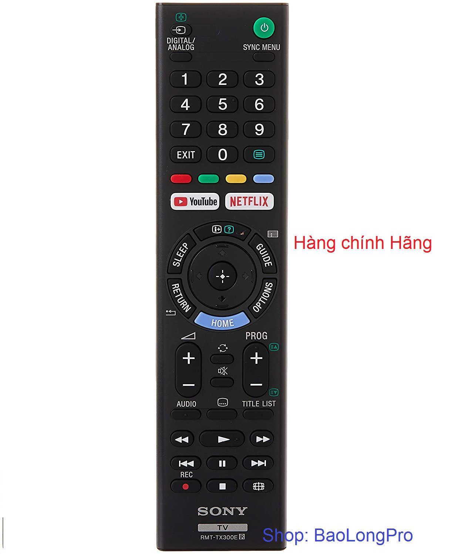Remote TIVI SONY mã: RTM-TX300E