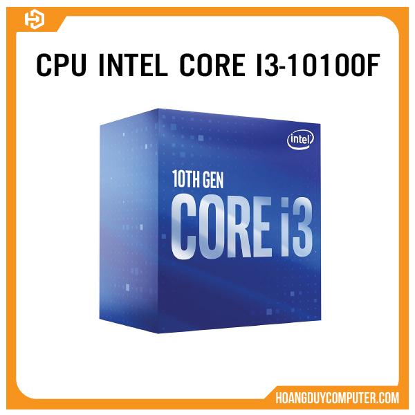 CPU intel core i3 10100F new chính hãng bảo hành 36 tháng