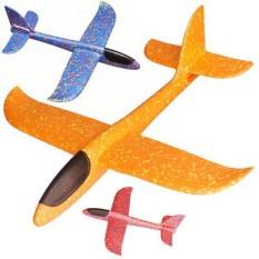 (CÓ VIDEO) Đồ chơi máy bay xốp phi bằng tay có đèn cho bé giao màu ngẫu nhiên