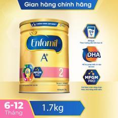 [FREESHIP 30K TOÀN QUỐC] Sữa bột Enfamil 2 cho trẻ từ 6-12 tháng tuổi hỗ trợ sự phát triển của não bộ cân nặng và phát triển thể chất toàn diện (1.7kg)