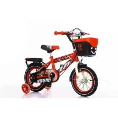 xe đạp trẻ em – xe đạp cho bé – dành cho bé 2-6 tuổi – mẫu mới khung vành bằng sắt siêu trắc chắn bánh 12