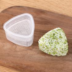 Khuôn làm cơm nắm bento khuôn cơm cho bé hình tam giác làm sushi onigiri nhật bản giúp trẻ ăn dặm NCDC03-SET4KHUON KIDS GARDEN