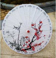 Dù giấy Wagasa Nhật Bản – hoa anh đào MS10