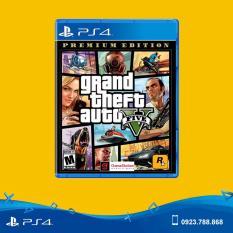 Đĩa Game PS4 Mới – Grand Theft Auto V Premium Edition (GTA 5) – hệ US