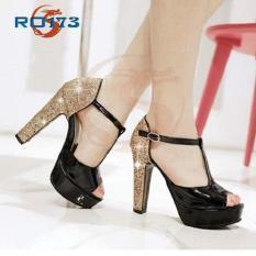 Giày sandal cao gót nữ đẹp Rosata-RO173