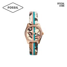 Đồng hồ Nữ FOSSIL dây da Scarlette ES4609 – nhiều màu