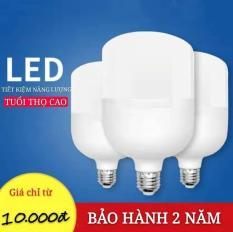 Bóng đèn LED tiết kiệm năng lượng chiếu sáng gia dụng siêu sáng, nhà máy sản xuất bóng đèn vít xoắn e27 chống thấm nước công suất cao 5W-10W -15W-20W-30W-40W -50W(Ánh sáng Trắng)