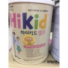 Sữa Hikid Hàn Quốc tăng Chiều Cao Cân nặng Vani 600g