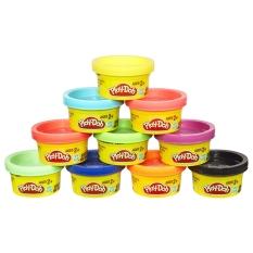 Bộ Đồ Chơi Ống Đất Nặn 10 Màu – Play-Doh 22037