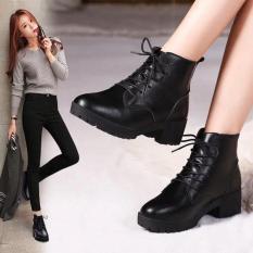 Giày – Bốt nữ cổ cao hàng QC full box
