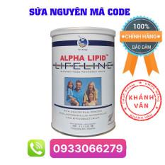 [ Nguyên Code ] Sữa non Alpha Lipid Lifeline 450g