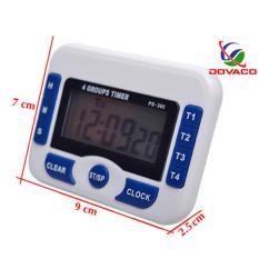 Đồng hồ bấm giờ đếm ngược điện tử 4in1 PS-360