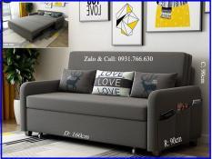 Ghế Sofa giường tiện lợi có ngăn chứa đồ 1m6x1m9 ( Màu xám đen )