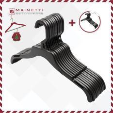 [HOT] Mua 1 tặng 1 Bộ 10 móc treo áo người lớn Mainetti – MTN15 – Đen