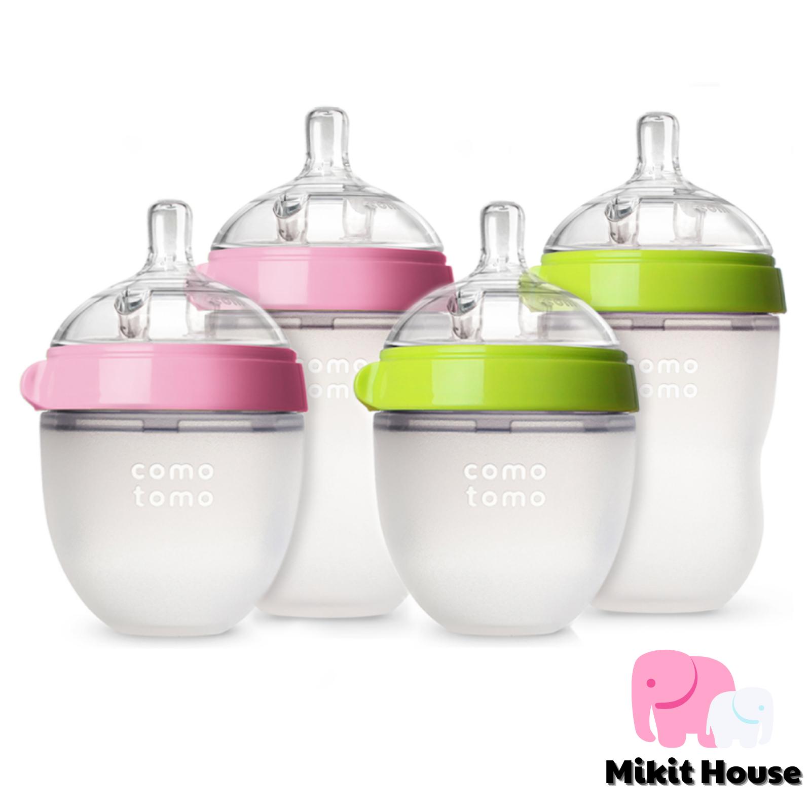 Bình sữa cho bé Comotomo chính hãng dung tích 150 / 250ml [Mikit-House]