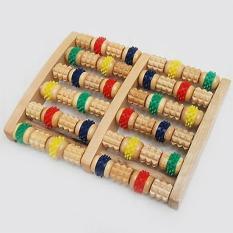 [ Hỗ Trợ Điều Trị ] BÀN LĂN MASSA CHÂN BẰNG GỖ / Hỗ Trợ Trị Liệu Phục Hồi Chức Năng / Giảm Đau Thông Kinh Mạch ( loai xịn )