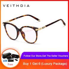 VEITHDIA Unisex Blu-ray Máy Tính Kính mắt kính Gọng Kính Mắt Nam/Nữ V8003