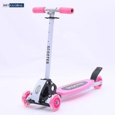 Xe trượt scooter 3 bánh cho bé BBT Global KM956A, xe truot tre em, xe scooter