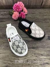 [SenXanh] Giày slip on họa tiết cho bé nam nữ